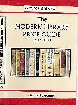 The Modern Library Price Guide 1917-2000: Henry Toledano