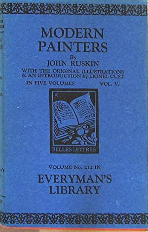 Modern Painters. Vol. V of 5. With: Ruskin, John: