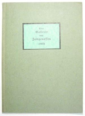 Eine Gallerie von Zeitgenossen. (1853.)