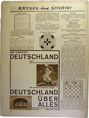Arbeiter-Illustrierte-Zeitung. Jahrgang VIII, Nr. 28. Ferien Freuden.: AIZ [Heartfield, John