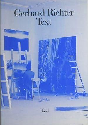 Text. Schriften und Interviews. Herausgegeben von Hans-Ulrich: Richter, Gerhard:
