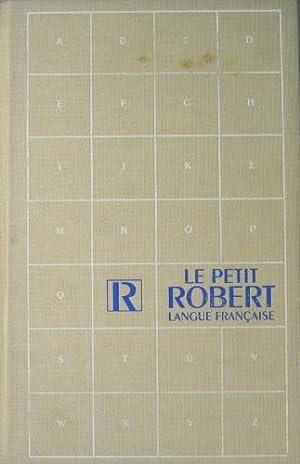 Le nouveau petit Robert. Dictionnaire alphabéthique et: Robert, Paul et