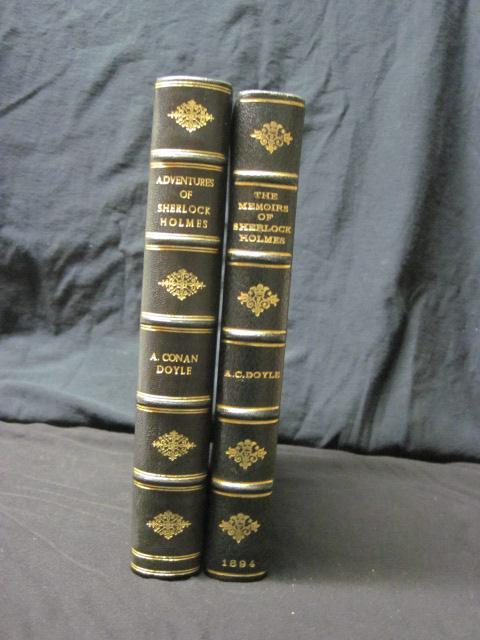 The Adventures of Sherlock Holmes & The Memoirs of Sherlock Holmes Doyle, Arthur Conan Fine Hardcover
