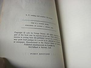 The Death of Tragedy: Steiner, George