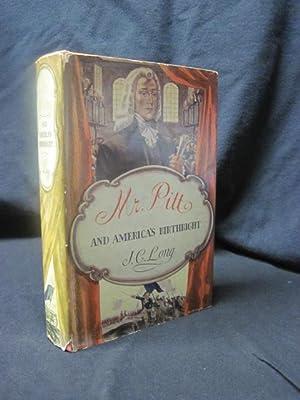 Mr. Pitt and America's Birthright: Long, J.C.