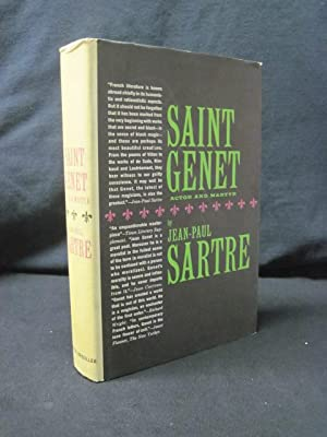 Saint Genet: Actor and Martyr: Sartre, Jean-Paul