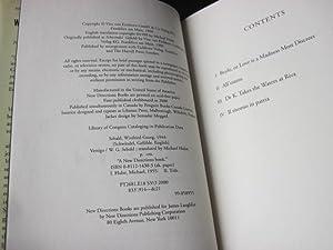Vertigo: W.G. Sebald; Michael Hulse