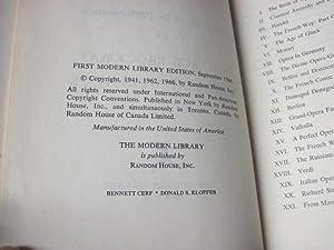 The World of Opera: Brockway, Wallace; Weinstock, Herbert