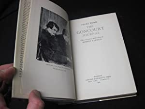 Pages from the Goncourt Journal: Baldick, Robert