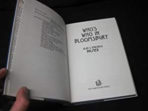 Who's Who in Bloomsbury: Palmer, Alan; Palmer, Veronica