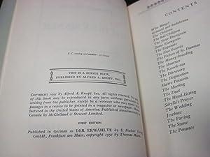 The Holy Sinner: Mann, Thomas; Lowe-Porter, H.T.