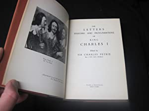 The Letters of King Charles I: Petrie, Sir Charles