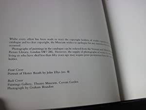 Catalogue of Paintings at the Theatre Museum, London: Ashton, Geoffrey