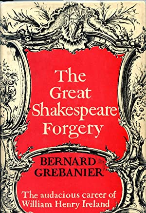 THE GREAT SHAKESPEARE FORGERY