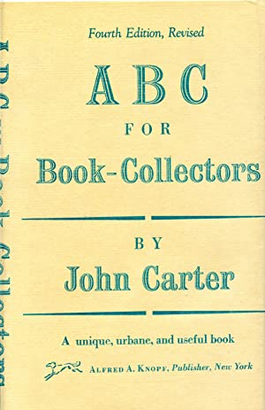ABC FOR BOOK-COLLECTORS: CARTER, JOHN