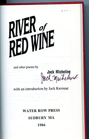 RIVER OF RED WINE [SIGNED COPY]