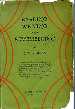 READING, WRITING AND REMEMBERING