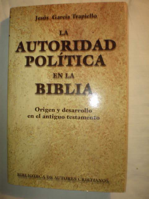 La Autoridad Pol U00edtica En La Biblia De Jes U00fas Garc U00eda