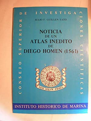 Noticia de un atlas inédito de Diego Homen (1561)