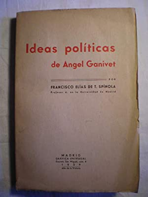 Ideas políticas de Angel Ganivet