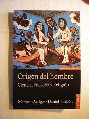 Origen del hombre. Ciencia, filosofía y religión.: Mariano Artigas; Daniel Turbón