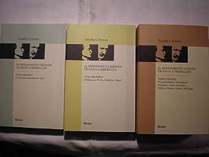El pensamiento alemán de Kant a Heidegger: Eusebi Colomer