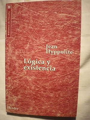 Lógica y existencia: Jean Hyppolite