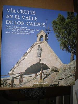Vía Crucis en el Valle de los: SS. Benedicto XVI,