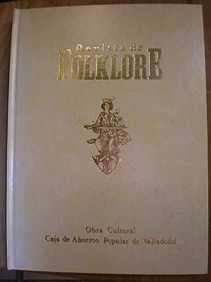 Revista de Folklore. Tomo 7-1 ( 1987): VV.AA.