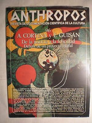 Revista Anthropos Nº 96 - 1989 .: VV.AA.