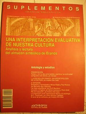 Una interpretación evaluativa de nuestra cultura. Análisis: Dónoan - Andrés