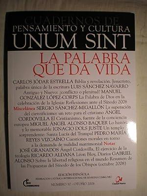 Cuadernos de pensamiento y cultura Unum sint: Carlos Jódar Estrella;