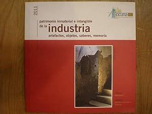 Patrimonio inmaterial e intangible de la industria.: VV.AA.