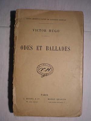 Odes et ballades: Victor Hugo