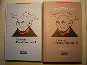 Parerga y paralipómena ( 2 Volúmenes): Arthur Schopenhauer