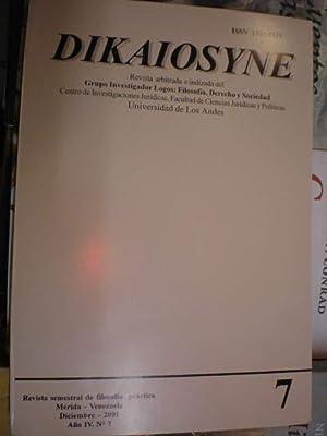 Dikaiosyne 7 - Diciembre 2001: CArlos Casanova -