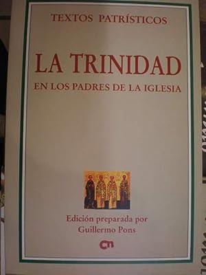 La Trinidad en los Padres de la: Guillermo Pons (