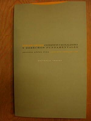 Constitucionalismo y derechos fundamentales: Dieter Grimm (ed.)