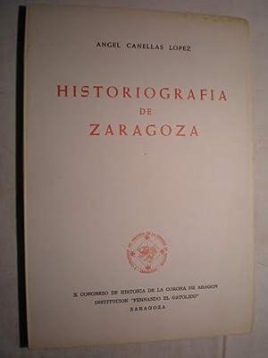 Historiografía de Zaragoza: Angel Canellas López