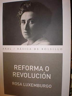Reforma o revolución: Rosa Luxemburgo
