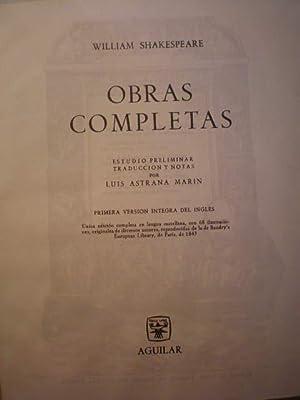 Obras Completas: William Shakespeare