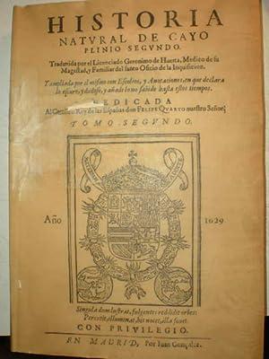 Historia Natural de Cayo Plinio Segundo. Traduzida: Cayo Plinio Segundo