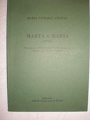 Marta & María (1976): María Victoria Atencia
