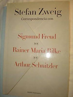 Stefan Zweig Correspondencia con Sigmund Freud -: Stefan Zweig -