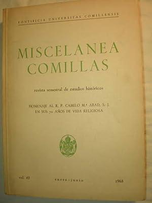 Miscelanea Comillas Vol. 43 - Enero-Junio 1965.: Quintín Aldea Vaquero,