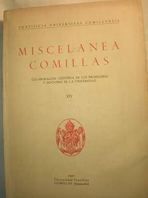 Miscelánea Comillas Tomo XIV - 1950: P. Joaquín Salaverri,