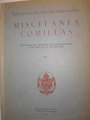 Miscelánea Comillas Vol. VIII - 1947: Angel Munárriz, Pbro