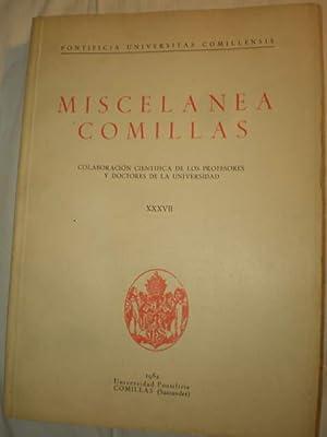 Miscelánea Comillas Tomo XXXVII - 1962: Luis Fernández, SJ