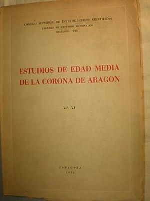 Estudios de Edad Media de la Corona: F. Balaguer -