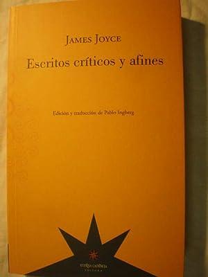 Escritos críticos y afines: James Joyce